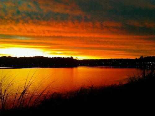 Dunedin Sunrise - Photo  © Paul S Allen 2012